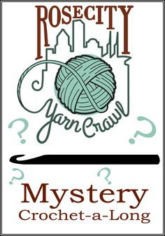 Rose City Yarn Crawl in Portland Oregon's Mystery CAL, starts January 2014, pattern by Laurinda Reddig