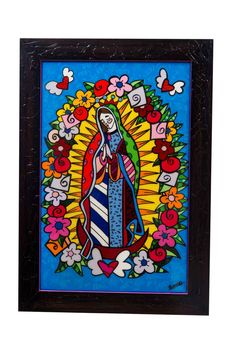 Virgen de Guadalupe en arte Brito