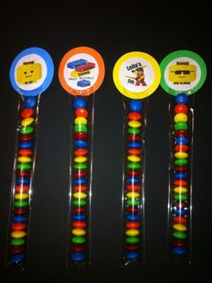 Lego Theme Party Favor by TotalParty on Etsy, $1.25