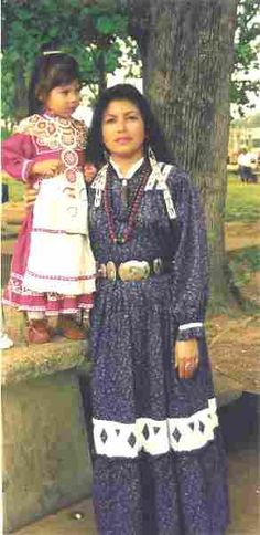 Cherokee Indian Clothing Mother & Daughter