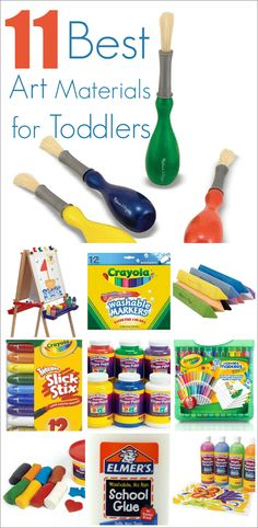 11 Best Art Materials for Toddlers