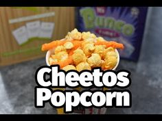 Crowd Pleasing Cheetos Popcorn is perfect for a party