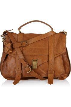 Huge lust: Proenza Schouler caramel brown travel bag