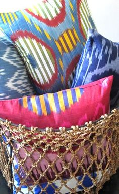 ikat collection pillows from @l'aviva home