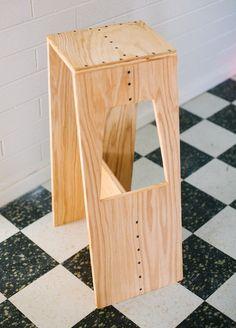 IY Modern Plywood Stool