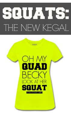 We've always been told to do our kegals, but guess what? The squat is the new kegal!