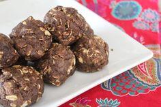 Double Chocolate Peanut Butter Protein Balls | @Jillian Myers