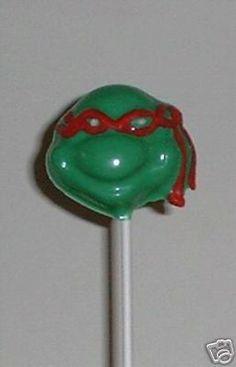Ninja Turtles Lollipops/Chocolate Suckers/Party Favors