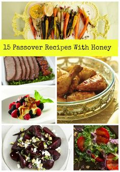 We are buzzing about Passover recipes with honey.