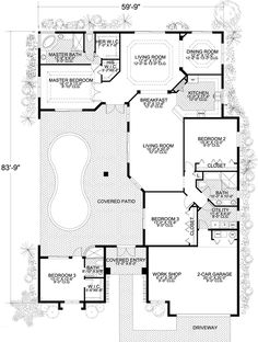 Floor Small Home Plans On Coastal House Plans With Wrap Around Porch