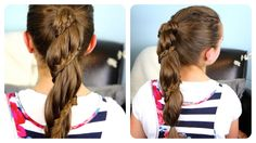 Winding Lace Braid Ponytail Cheat | Cute Girls Hairstyles
