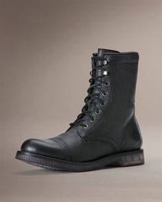 Another Frye lace-up...Norton Tall Lace