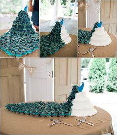 Peacock wedding with