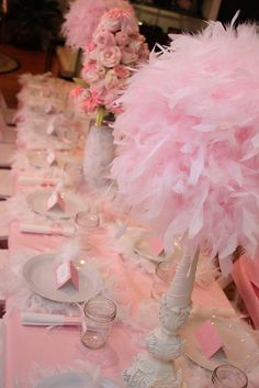 More feathers - so frou frou.