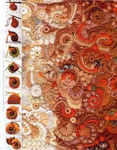 Emerging freeform crochet - I love this!