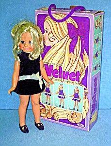 1970 Velvet doll