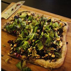 Organic Fig and Goat Cheese Pizza
