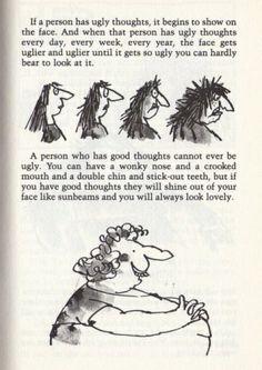 LOVE this! Roald Dahl.
