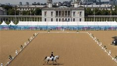 The Greenwich Park Eventing Invitational gets underway