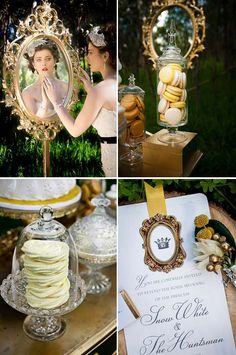Snow White wedding    http://elegantwedding.ca/wp-content/uploads/ELEGANT-WEDDING-SNOW-WHITE1.jpg