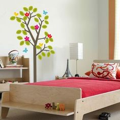Kid's bed by NotNeutral  - integrated bench!