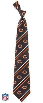 A tie featuring your dad's favorite NFL team would be perfect for father's day. Click on the link to see all other teams and designs