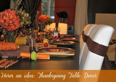Thanksgiving Table D