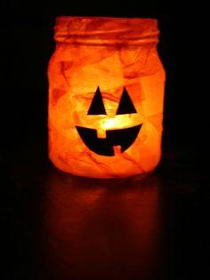 holiday, baby food jars, pumpkin crafts, fall crafts, candl