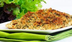 Frango empanado com crosta de ervas - Foto: divulgação  Edu Guedes ensina sete receitas para animar a dieta -     http://msn.minhavida.com.br/receitas/galerias/15796-edu-guedes-ensina-sete-receitas-para-animar-a-dieta#