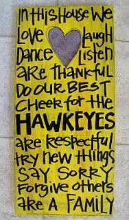 Hawkeyes in this house!
