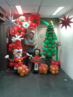 Balloon Christmas / Winter ideas on Pinterest