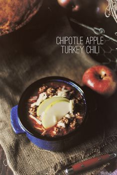 Chipolte Apple Turkey Chili