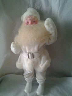 White vintage Harold Gale santa
