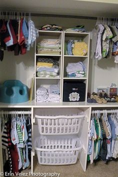 Ideas to redesign kids closet, to get its organizing  kids friendly.