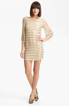 Alice + Olivia Silk Tunic Dress