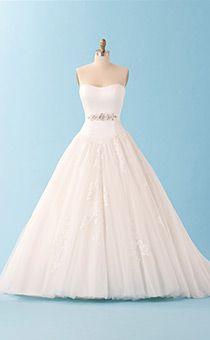 Disney wedding gowns