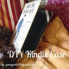Yuen Yarn - DIY Kindle Case Tutorial, my christmas gift to my husband this year.  You can whip one up too...