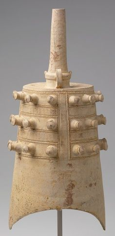 Early Chinese - Ceramic bells were also made to place in tombs, serving as a less expensive alternative.