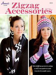Zigzag Accessories - Electronic Download crochet scarf, crochet hats, zag crochet, zigzag accessori, crochet accessories, crochet patterns, accessori crochet