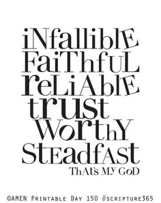 My God Is...