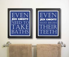 Nursery art print, Star Wars, Children Decor, Typography Poster, Nursery wall quotes, Nursery print, Bathroom Art