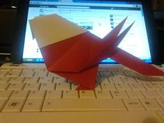 My Origami Angry Bird :P