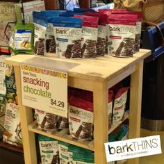 What a great sight :) #rootsmarket #barkTHINS #SPOTTED #nongmo #fairtrade