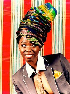 great photo #hats #africanprint