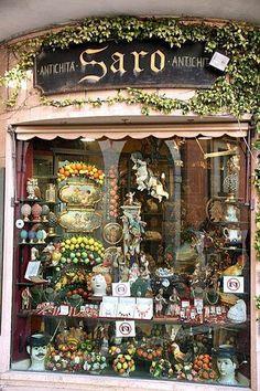 Shop in Taormina, Sicily