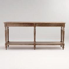 world market foyer table
