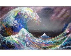 Yasuo Nomura art stuff, life aquat, yasuo nomura, colour life, art class, color univers, primordi mt, mix media