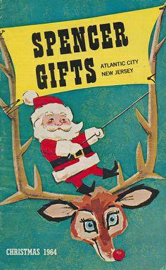 Vintage Spencer Gifts Christmas catalog