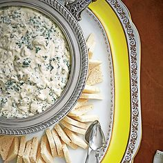 Lump Crab Mornay | This creamy dip is perfect for your holiday party. | SouthernLiving.com