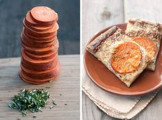 Sweet potato pizza!   By Erin Gleeson for The Forest Feast. Recipe adapted from BHG.